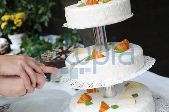 Bildagentur Pitopia Bilddetails Hochzeitstorte Anschneiden