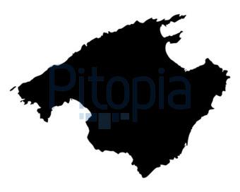 Spanien Karte Schwarz Weiß.Bildagentur Pitopia Bilddetails Karte Von Mallorca Robert