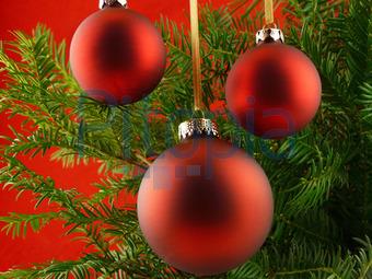 Dunkelrote Christbaumkugeln.Bildagentur Pitopia Bilddetails Rote Christbaumkugeln