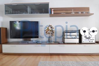 Tv bank modern  Bildagentur Pitopia - Bilddetails - Wohnzimmer (rotoGraphics) Bild ...