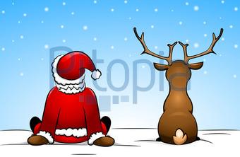 Bildagentur Pitopia Bilddetails Weihnachtsmann Und