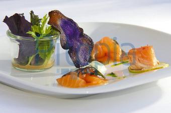 Sommerküche Vorspeise : Leichte sommerküche mit lachs teil lachs mango muffins