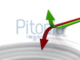 Bildagentur Pitopia - Bilddetails - Gewinn und Verlust Konzept ...