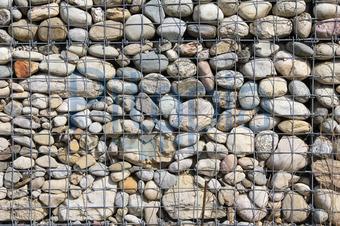 bildagentur pitopia - bilddetails - pflegeleichter steinzaun, Hause und Garten