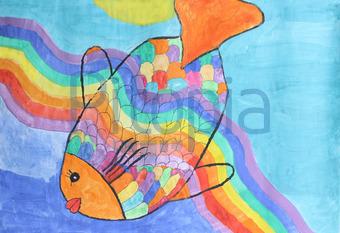 Bildagentur Pitopia Bilddetails Regenbogenfisch