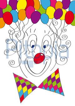 Clown (Tanika)   Lizenzfrei (royalty Free)