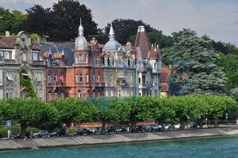 Bildagentur Pitopia - Bilddetails - Villen am Ufer in Konstanz ...