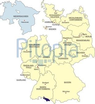 Niedersachsen Karte Mit Städten.Bildagentur Pitopia Bilddetails Karte Bundesrepublik Deutschland