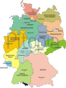 Landesgrenzen Bundesländer