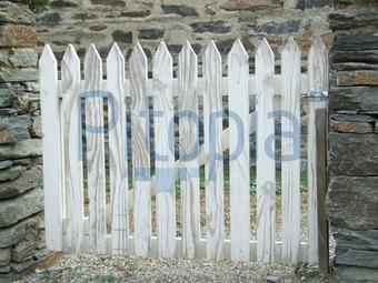 bildagentur pitopia - bilddetails - holzzaun (katrin henning) bild, Garten und Bauen