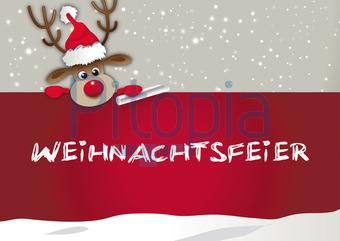 bildagentur pitopia - bilddetails - einladung zur weihnachtsfeier, Einladung