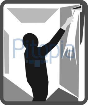 Fenster clipart schwarz weiß  Bildagentur Pitopia - Bilddetails - Fensterreinigung (Bernhard ...