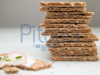 Bildagentur Pitopia Bilddetails Knackebrot Mit Radieschen